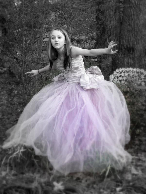 Gothic Prom Gowns Photography