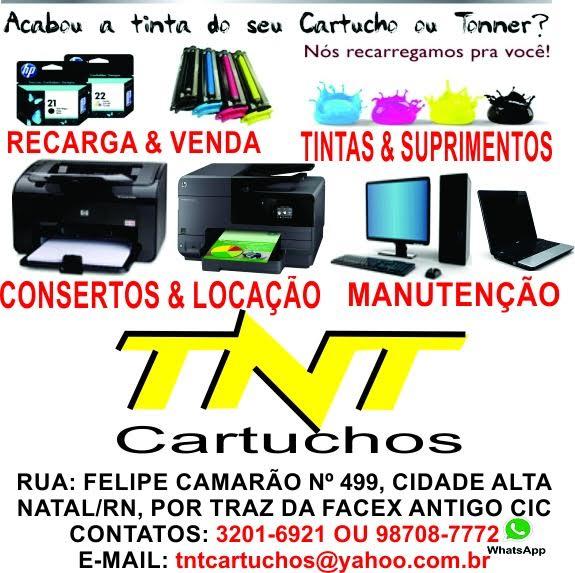 TNT CARTUCHOS