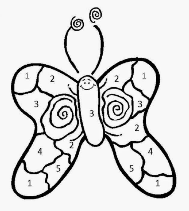 Coloring Sheets For Kindergarten | Free Coloring Sheet