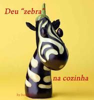 deu zebra na cozinha
