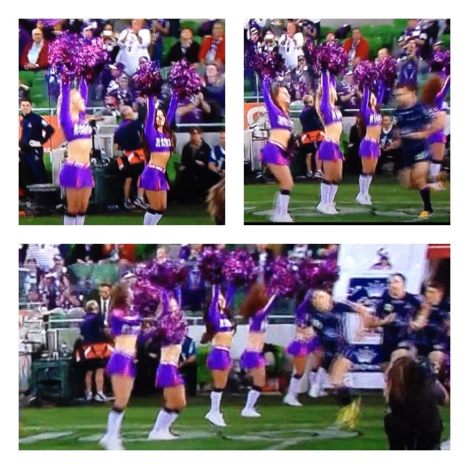 how to become a melbourne storm cheerleader