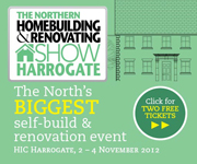 The Northern Homebuilding & Renovating Show Harrogate 2 - 4 November 2012