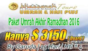 Umrah Lailatul Qadar By Garuda