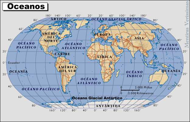 los mare mas importantes del mundo: