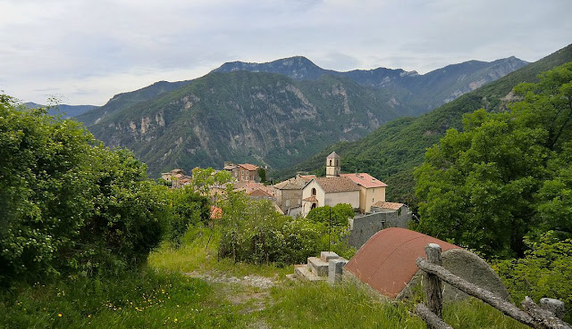 The village of Marie in the Tinée Valley