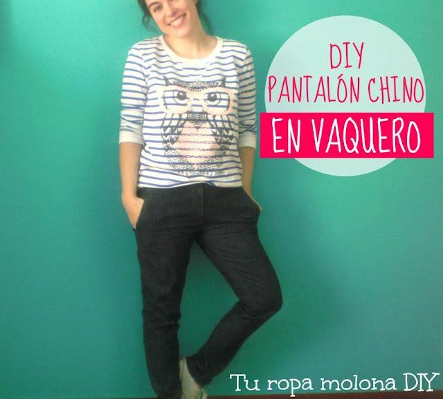DIY pantalón chino