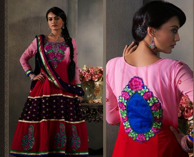Bollywood Stylist Zoya Designer Beautiful Long Anarkali ...