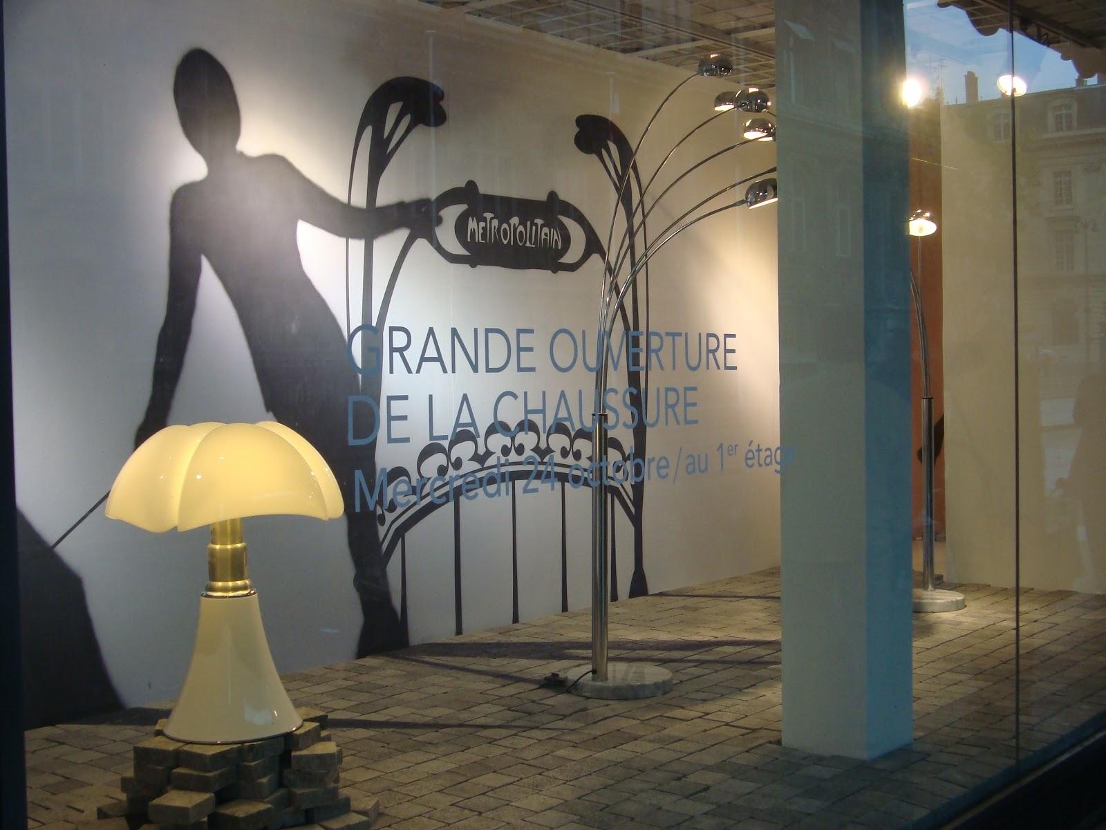 Paseos art nouveau guimard au bhv - Bhv luminaires lampadaires ...