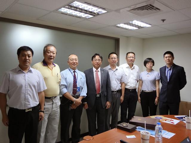嘉興經濟技術開發區參訪團參訪