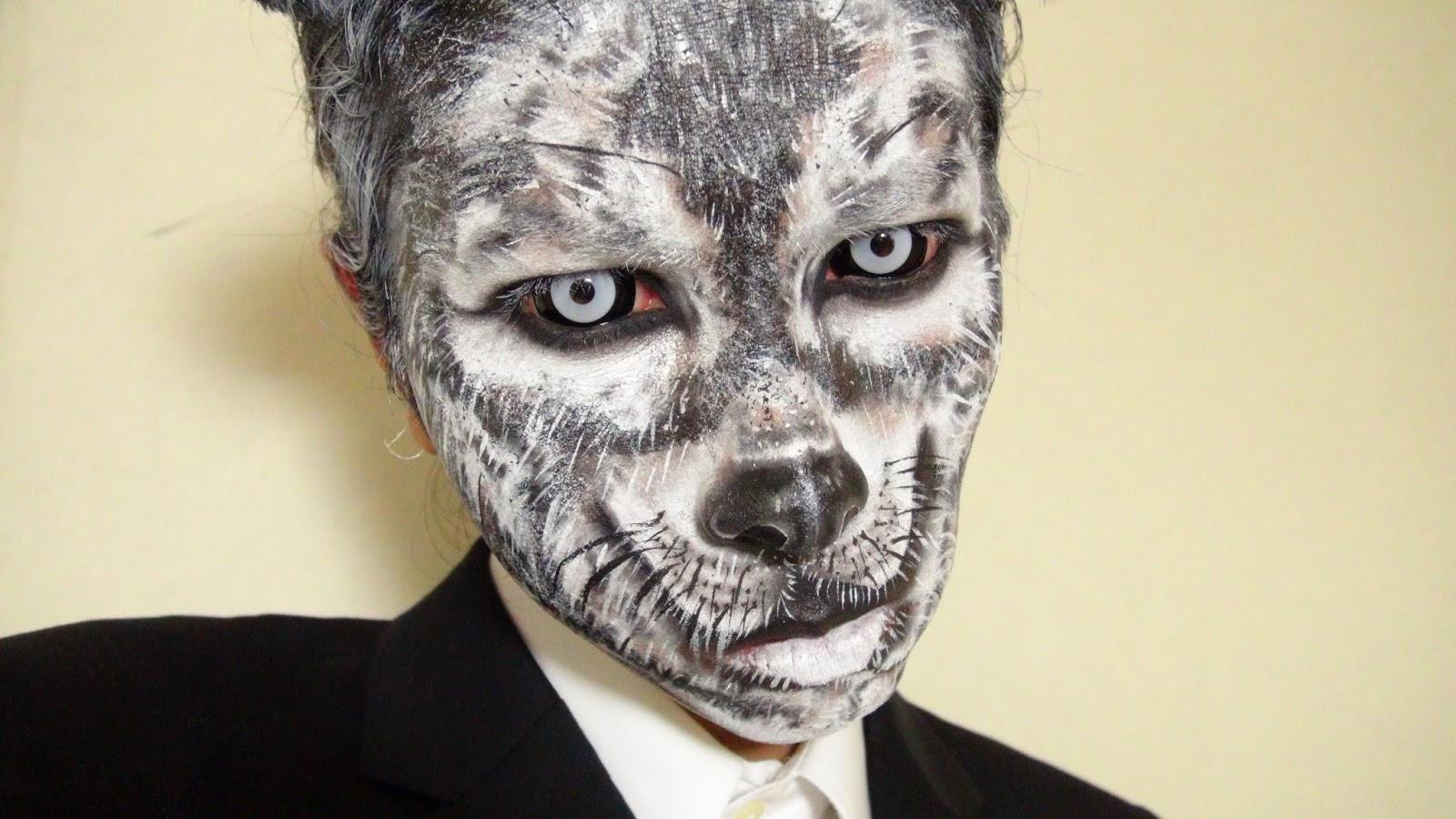 Multinotas Halloween Maquillaje Lobos 2