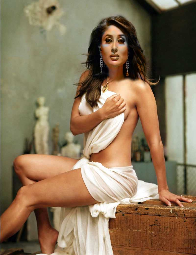 Kareena Kapoor in a hot scene