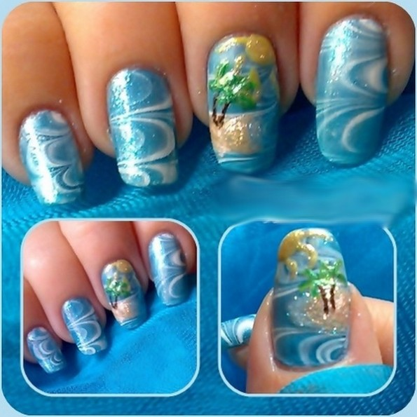 The Captivating Water nail art designs Digital Photography