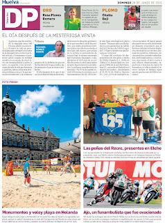 Huelva Información Otorga el Oro a Rosa Flores