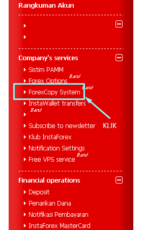 Forexcopy monitoring