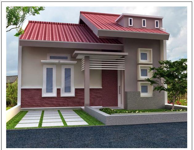kombinasi warna cat interior rumah minimalis dan tampak depan