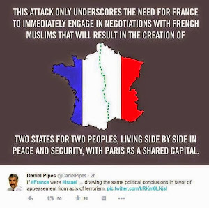 THE TWO-STATE SOLUTION FOR FRANCE  -  AND NO-GO ZONES MAPS