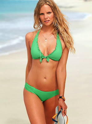 Marloes Horst awesome sexy body for Victoria's Secret Swimwear photoshoot