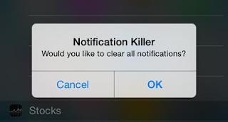Bersihkan Semua Notifikasi Di iOS