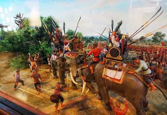 The war at Ayutthaya