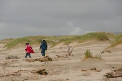 Oregon, Lane County, Sand, Beach, Pacific Ocean, Coast, Florence