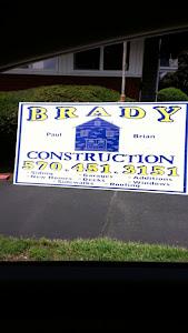 BRADY CONSTRUCTION