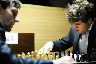 Hier, Alexander Grischuk et Magnus Carlsen ont annulé