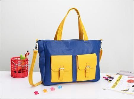 jual tas jinjing wanita korea murah biru kuning