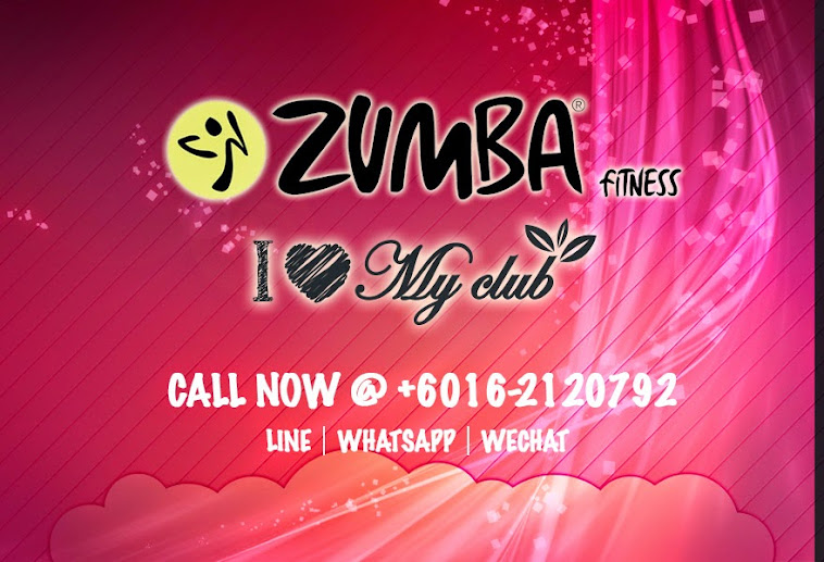 Zumba Fitness Banner Zumba Fitness in Ampang Point