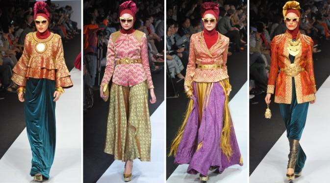 Foto Baju Muslim Dian Pelangi 2015 Trend Model Busana Islami Terbaru