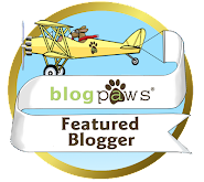 We&#39;re A BlogPaws Featured Blogger!