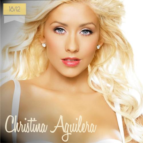 18 de diciembre | Christina Aguilera - @xtina | Info + vídeos