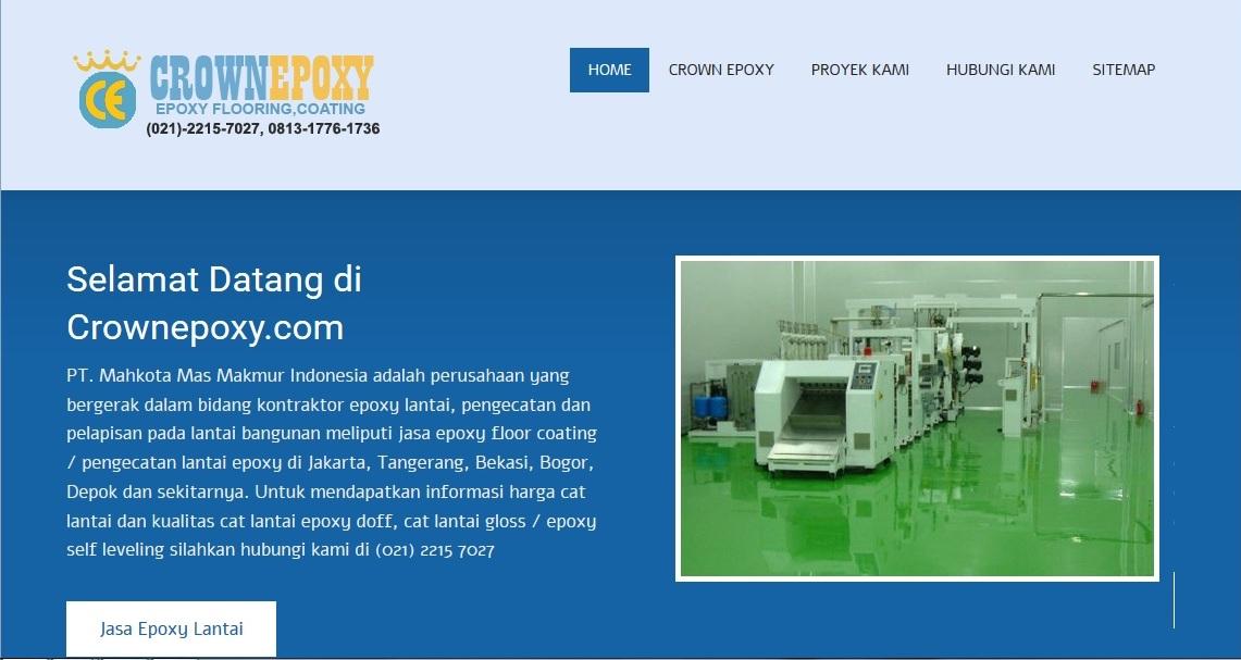 Kontraktor epoxy lantai bergaransi