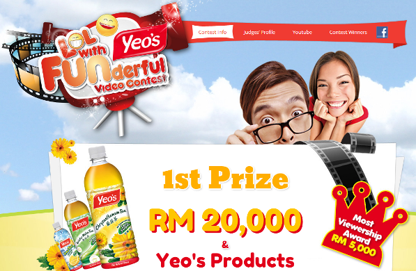 yeos, voucher, voucher yeos, yeos video contest, yeo's funderful video contest,