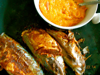 seared fish in pepper sauce