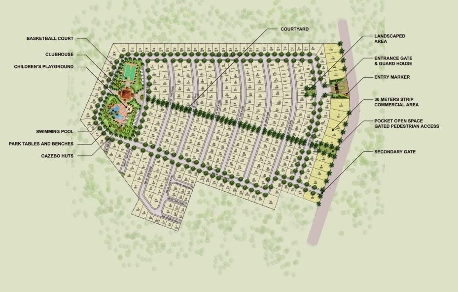 Le Jardin de Villa Abrille - Ma-a, Davao City Lot Plan