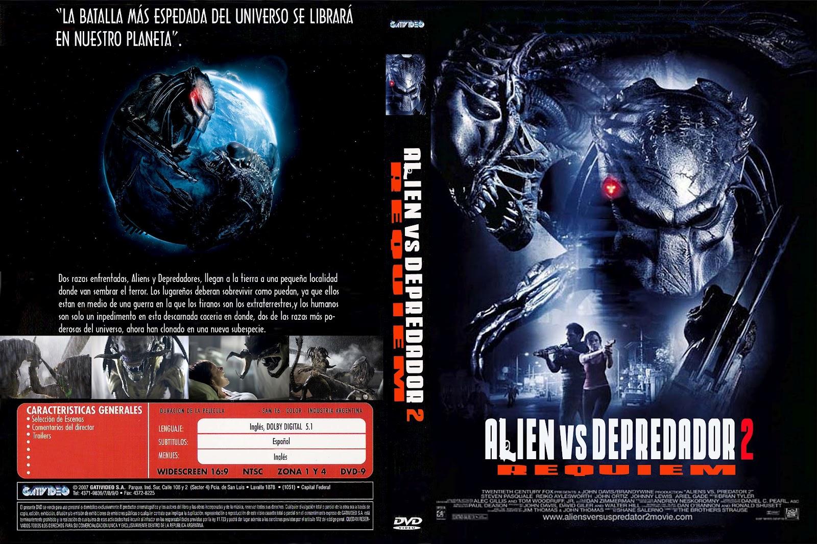 Alien vs depredador 2 alien vs predator 2