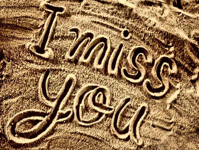 I Miss You Missing u sms