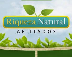 Riqueza natural - Programa de afiliados com cadastro grátis