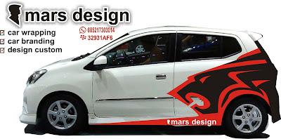 Jasa Cutting Sticker Untuk Branding Mobil