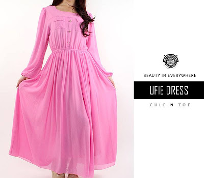 dress, chiffon dress, hijab dress, chicntoe, online shop, butik online, dress murah