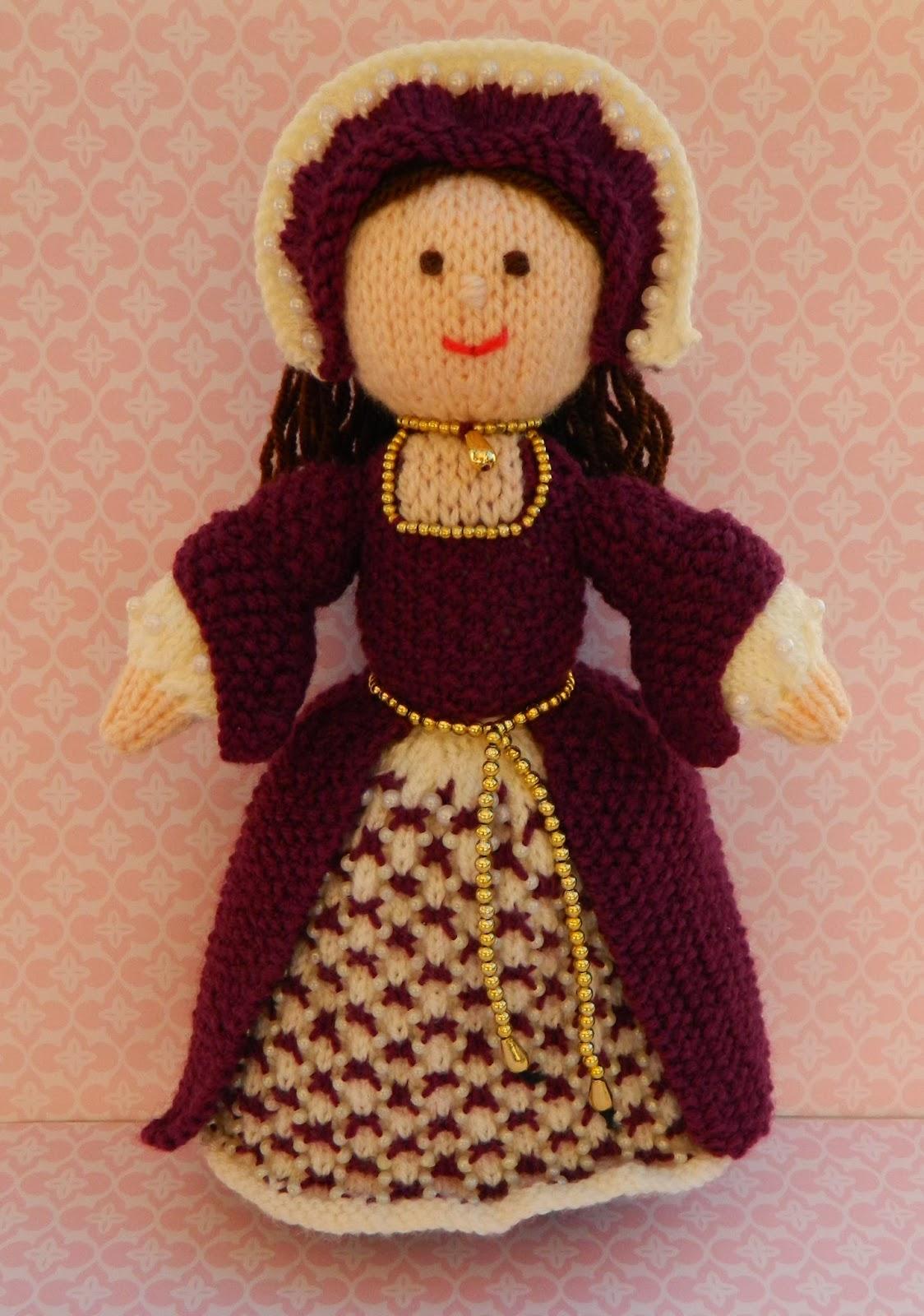 Knitting Patterns Toys Uk : Edith grace designs original doll toy knitting