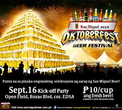 San Miguel Beer OktoberFest 2011 Kick Off Party, San Miguel Beer OktoberFest 2011, poster