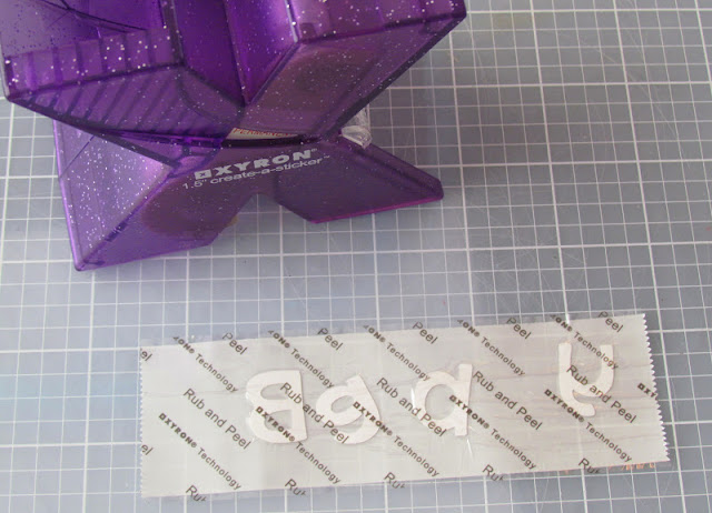how to use your Xyron to make glitter and twine embellishments.