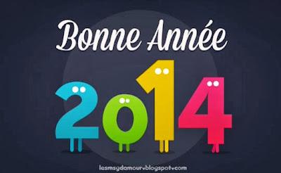 carte de bonne année 2014
