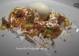 Mandarin Oriental, Chef Galvin Lim, Les Amis Singapore, cooking class, dessert