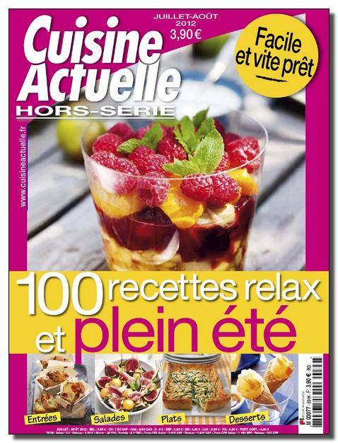 Meilleurs livres en pdf cuisine actuelle hs juillet aout - Meilleur livre cuisine ...