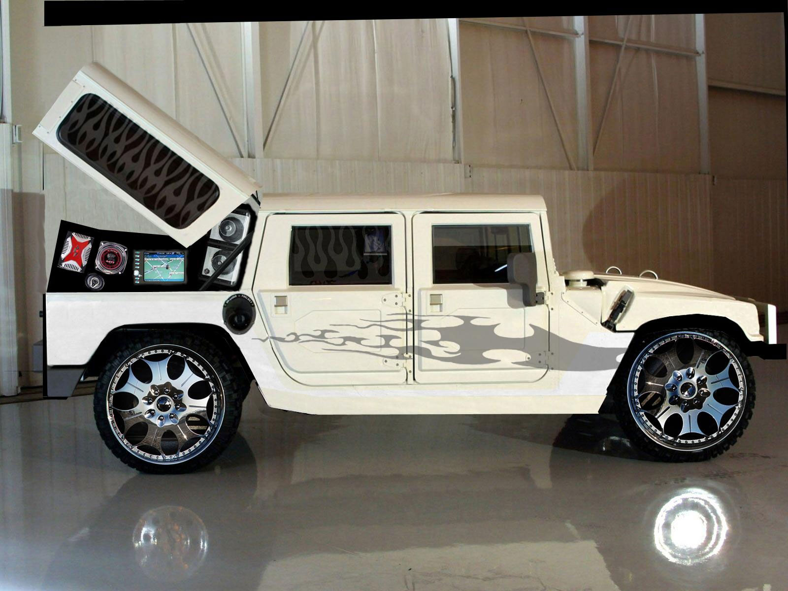 Sports And Celebrities Hummer Customize Hd Wallpapers Of