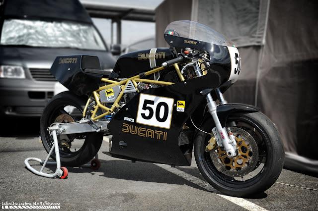 DUCATI 900SS MODIF TT Black+fifty