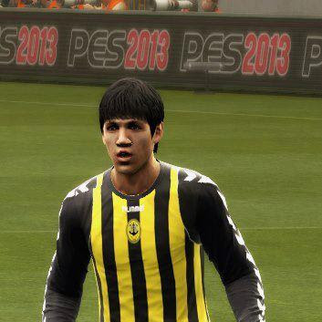 Another version of Nazmi Faiz in Pro Evolution Soccer games 2013
