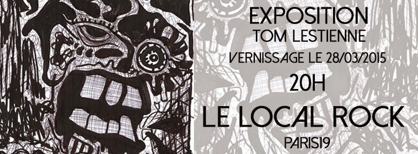 exposition tom lestienne local rock - gricha rosov art outsider